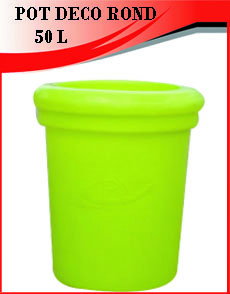 POT DECO ROND 50L